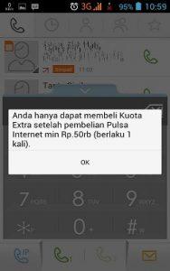 Syarat pembelian kuota paket internet Telkomsel